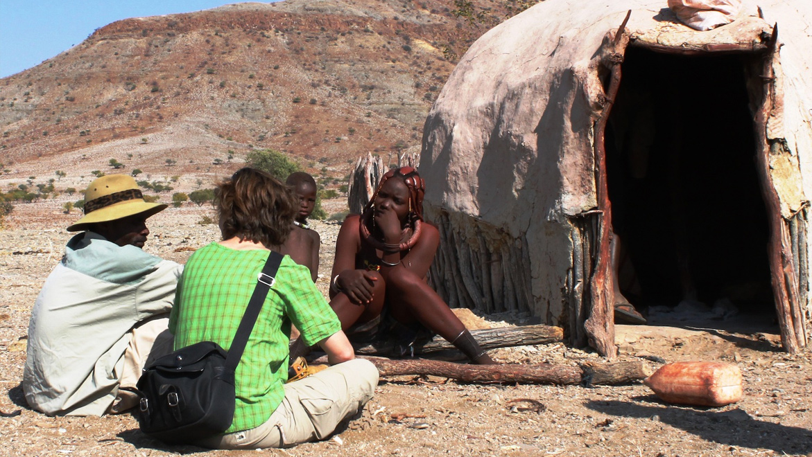 When CSN guests visit Himba villages we ensure excellent translation – so you can speak freely with CSN's Himba shareholders